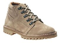 SIZE 7 8 9 10 11 12 LIGHT BROWN REAL SUEDE LEATHER LACE UP DESERT WORK BOOTS
