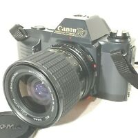 *near MINT* Canon T50 SLR FILM CAMERA w/ Sigma 35-70mm f2.8-4 Macro LENS JAPAN