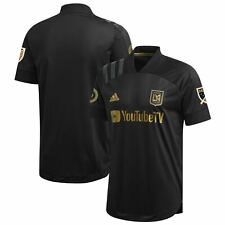 LAFC adidas 2020 Primary Authentic Jersey - Black