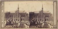 Coln Germania Deutschland Stereo Foto Th. Creifelds Vintage Albumina Ca 1860