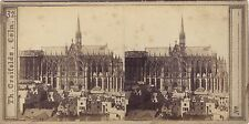 Cöln Allemagne Deutschland Stéréo Photo Th. Creifelds Vintage albumine ca 1860