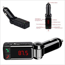 12V LCD Display Car Bluetooth MP3 FM Transmitter USB Charger Phone Handfree Kit