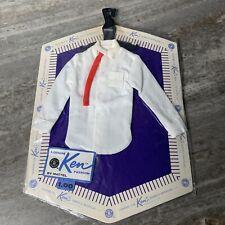 1961 MATTEL Fashion PakFor Ken Doll White Shirt/tie   New In Original Packaging