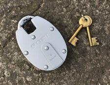 Securit 63mm 6 leva di chiusura catena Lucchetto-Corazzato doppia FERRO dell'Otturatore di Blocco