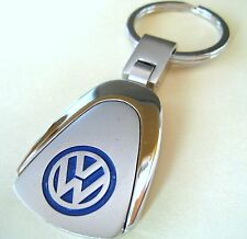 VOLKSWAGEN VW KEY CHAIN RING FOB JETTA PASSAT GTI TIGUAN GOLF 2016 2015 CHROME