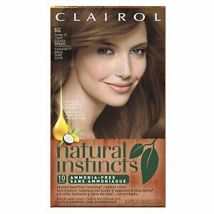 Clairol Natural Instincts 6G Former 12 Hair Color *Factory Sealed*