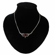 Chain Amber Sterling Silver Fine Necklaces & Pendants