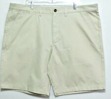 New with Tags!  Merona Men's Khaki Flat Front Cotton Dress Shorts - Size 46