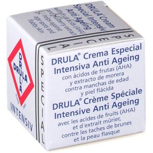 Drula Intensive Anti Ageing Cream Age Spots Wrinkles plant extract vitamin E