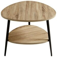 Cyan Design Moon Shot Side Table, Oak/Black - 9624