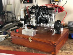 miniature gas engine 6 cylinder