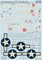 Print Scale 48-071 - 1/48 Decal for Grumman F6f Hellcat