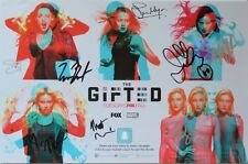 The Gifted Autographed SDCC 11x17 3D Poster Autographed By Seven w/ 3D Glasses +