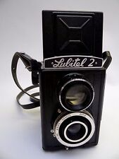 LOMO Lubitel 2 Russian Twin-lens Reflex Camera.USSR c1966