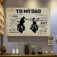 To Dad Biker 11  POSTER