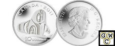 2011 'Orca Whale' Proof $10 Silver .9999 Fine (NT) (12911)