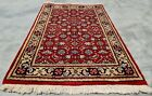 Authentic Hand Knotted Vintage indo Wool Area Rug 3 x 2 FT (11278 KBN)