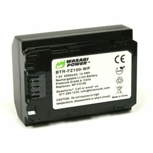 Wasabi Power Battery for Sony NP-FZ100