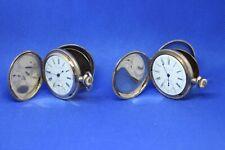 2 - Antique  SETH THOMAS Pocket Watch  Hunter 6S 7J