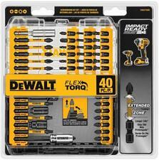 DEWALT - 40 Piece Screwdriver Bit Set - Impact Ready - FlexTorq - BRAND NEW