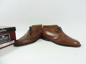 Church's Cheaney mens Shoes Boots chukka tan UK 10 US 11 EU 44 F boxed