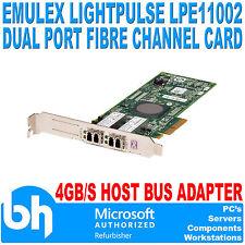 Emulex Optical FC Network Cards