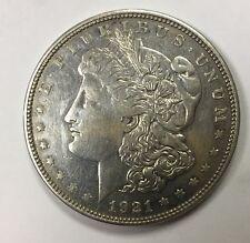 1921 D Morgan Dollar RARE DD VAM Multiple Die Cracks on Rev.