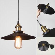 Industrial Vintage Lighting Fixture Ceiling Lamp Pendant Light Loft Chandelier