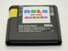 !!! SEGA MEGA DRIVE SPIEL Rolo to the Rescue NUR MODUL GUT !!!