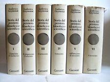 Ludovico Geymonat, Storia del pensiero filosofico e scientifico, 1970,1° ed.