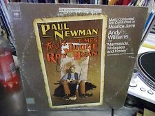 Soundtrack The Life and Times of Judge Roy Bean LP 1973 Columbia EX promo