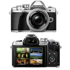 Olympus Digitalkamera E-M10 MARK III Kit inkl. M 14-42 mm 4K-Video 16MPX