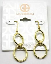 Giani Bernini Circle Drop Earrings in 18k Gold Over Sterling Silver