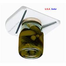 Under Cabinet Jar Opener Vise V Shaped Wedge Kitchen Counter Lid Bottle Cap New