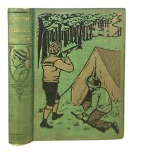Caesar Cascabel by JULES VERNE - Early ILLUSTRATED American Edition