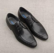 Men's Fashion Pointy Toe Weave Dress Formal Party Business Leather Shoes N68