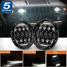 2X 150W 7 inch LED Headlight Round HI/LO Sealed Beam for Chevy Pickup Truck 3100
