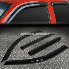 For 08-14 Scion Xd Xp110 Smoke Tint Window Visor Shade/Sun Wind/Rain Deflector (Fits: Scion)