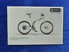 Smart electric bike ebike - Prospekt Brochure 10.2012