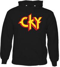 CKY Mens Hoodie - Jackass Bam Margera Branon DiCamillo Ryan Dunn Classic Logo