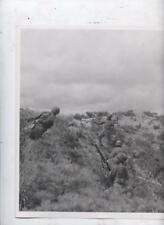 U.S.Army Authentic 8x10 press photo Korean war Marine 25 inf. Hurls Grenades