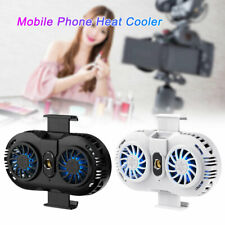 For Apple iPad iPhone Tablet Cooler Mobile Phone Cooling Radiator Dual Fan