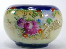 Vintage Cobalt Blue Gold Porcelain Bowl