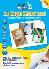 NEW! MAGIC WHITEBOARD. A4 SIZE. OFFICE, SCHOOL, BUSINESS OR HOME. REVISION AID.
