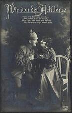 AK Postcard 1916 Army Soldiers Romance Armee Soldaten Woman Feldpost WWI (26)