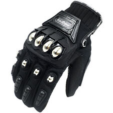 2020 Hot Motorcycle Gloves Touchscreen Leather Motocross Sport Bike Racing Metal