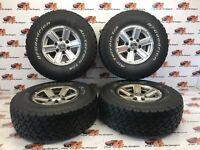Ford Ranger Alloy wheels BF Goodrich Maxxis 31x 10.50 R15  2002-2012