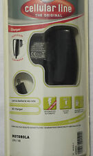 (PRL) MOTOROLA  PHONE BATTERY CHARGER CARICA BATTERIE CELLULARE RETE  110/240V