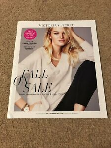 """Victoria's Secret Sexy Angels Candice Swanepoel """"Fall On Sale"""" Catalog Book"""
