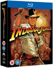 Indiana Jones The Complete Adventures Collection New Region B Blu-ray